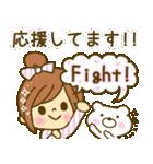 お絵かきガールズスタンプ5~3色敬語ver.~(個別スタンプ:24)