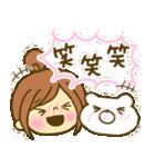 お絵かきガールズスタンプ5~3色敬語ver.~(個別スタンプ:31)