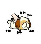シーズー5(※ここ気持ちいいの?)(個別スタンプ:08)