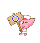 休肝日!レバーちゃん(肝臓)スタンプ(個別スタンプ:19)