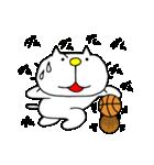 りるねこバスケットボール 2(個別スタンプ:9)