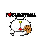 りるねこバスケットボール 2(個別スタンプ:15)