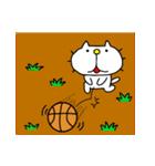 りるねこバスケットボール 2(個別スタンプ:16)