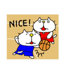 りるねこバスケットボール 2(個別スタンプ:17)
