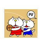 りるねこバスケットボール 2(個別スタンプ:18)