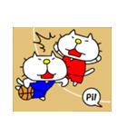 りるねこバスケットボール 2(個別スタンプ:19)