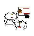 りるねこバスケットボール 2(個別スタンプ:22)