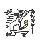 がんばれ!野球少年(個別スタンプ:33)