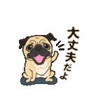 気軽にスタンプ パグ 行動編(個別スタンプ:06)