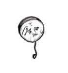 風船バーコード(個別スタンプ:17)