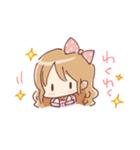 ドットりぼんちゃん(個別スタンプ:01)