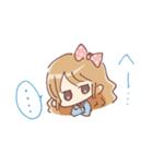 ドットりぼんちゃん(個別スタンプ:02)