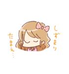 ドットりぼんちゃん(個別スタンプ:04)