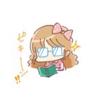 ドットりぼんちゃん(個別スタンプ:07)