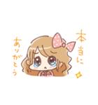 ドットりぼんちゃん(個別スタンプ:09)