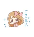 ドットりぼんちゃん(個別スタンプ:10)