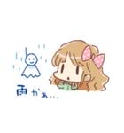 ドットりぼんちゃん(個別スタンプ:15)