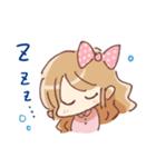 ドットりぼんちゃん(個別スタンプ:16)