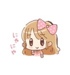 ドットりぼんちゃん(個別スタンプ:24)