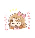 ドットりぼんちゃん(個別スタンプ:30)