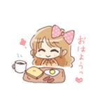 ドットりぼんちゃん(個別スタンプ:33)