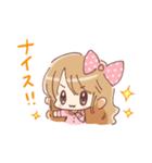 ドットりぼんちゃん(個別スタンプ:34)