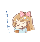 ドットりぼんちゃん(個別スタンプ:37)