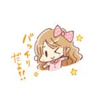 ドットりぼんちゃん(個別スタンプ:39)