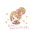 ドットりぼんちゃん(個別スタンプ:40)