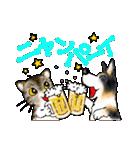 猫時々犬(個別スタンプ:39)