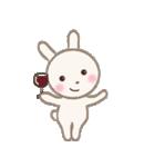 小さな白うさぎ(個別スタンプ:05)