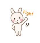 小さな白うさぎ(個別スタンプ:11)
