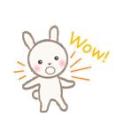 小さな白うさぎ(個別スタンプ:30)