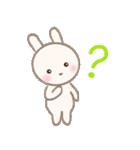 小さな白うさぎ(個別スタンプ:39)