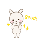 小さな白うさぎ(個別スタンプ:40)