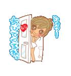 おんなのこたち【ラブラブカップル専用3】(個別スタンプ:35)