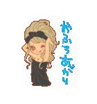 おんなのこたち【ラブラブカップル専用3】(個別スタンプ:36)
