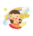 オリオリ☆フラガールズ(個別スタンプ:16)