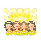オリオリ☆フラガールズ(個別スタンプ:32)