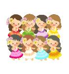 オリオリ☆フラガールズ(個別スタンプ:36)
