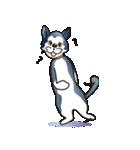 猫キャラ「ミー」と「ニック」(個別スタンプ:24)