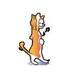 猫キャラ「ミー」と「ニック」(個別スタンプ:36)