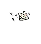 <吹き出し>敬語くまさん cute bear(個別スタンプ:39)