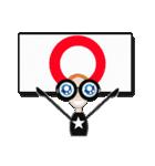 台湾語・日本語・眼鏡女子リン3(個別スタンプ:7)