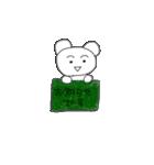 クマのポコちゃん お仕事編(個別スタンプ:25)