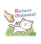 猫だすけ 2(人と猫)(個別スタンプ:04)