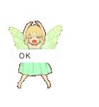 吹き出しの妖精スタンプ(個別スタンプ:01)