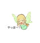 吹き出しの妖精スタンプ(個別スタンプ:06)