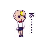 髪型がおかしい子供スタンプ(個別スタンプ:10)
