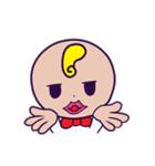 髪型がおかしい子供スタンプ(個別スタンプ:23)